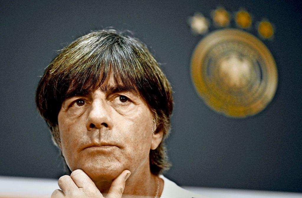 Bundestrainer Joachim Löw hat die Zukunft im Blick. Foto: dpa