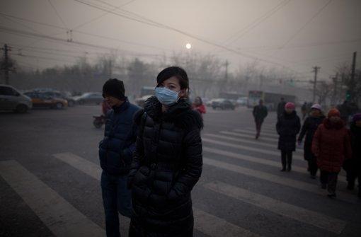 Peking hält die Luft an