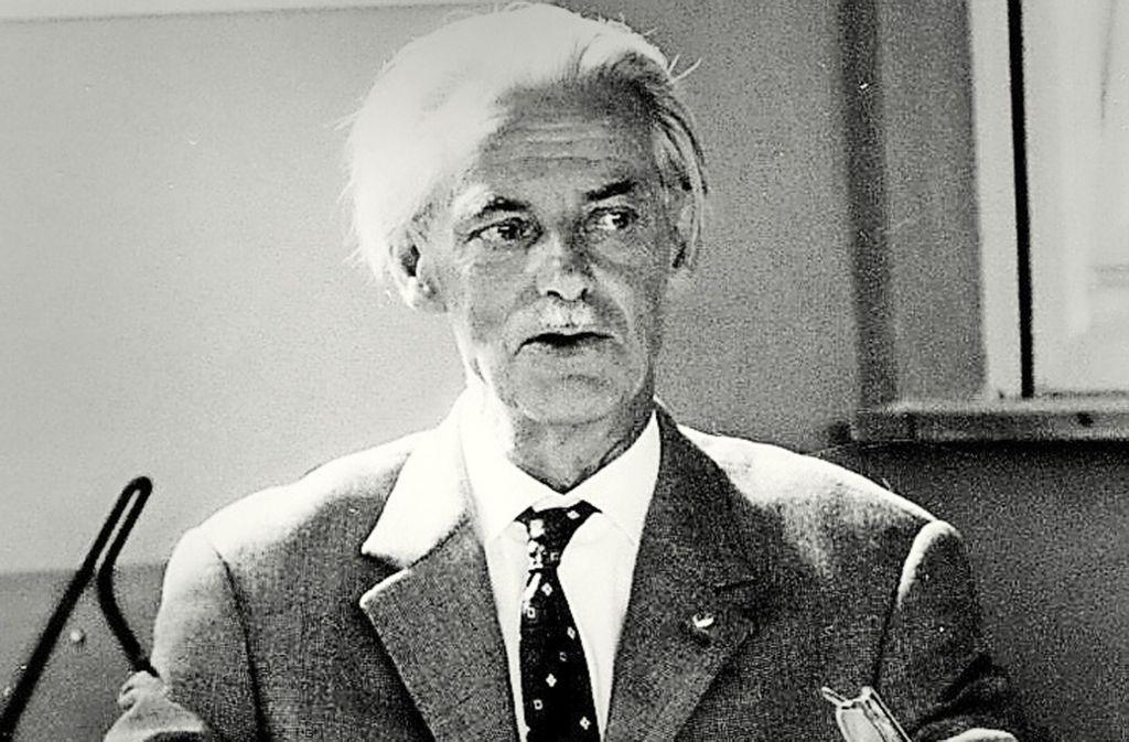 Der Kommunist Ludwig Knauß flüchtete vor den Nazis nach Frankreich. Foto: privat