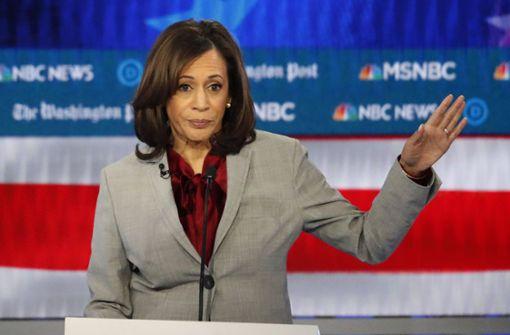 Demokratin Kamala Harris steigt aus