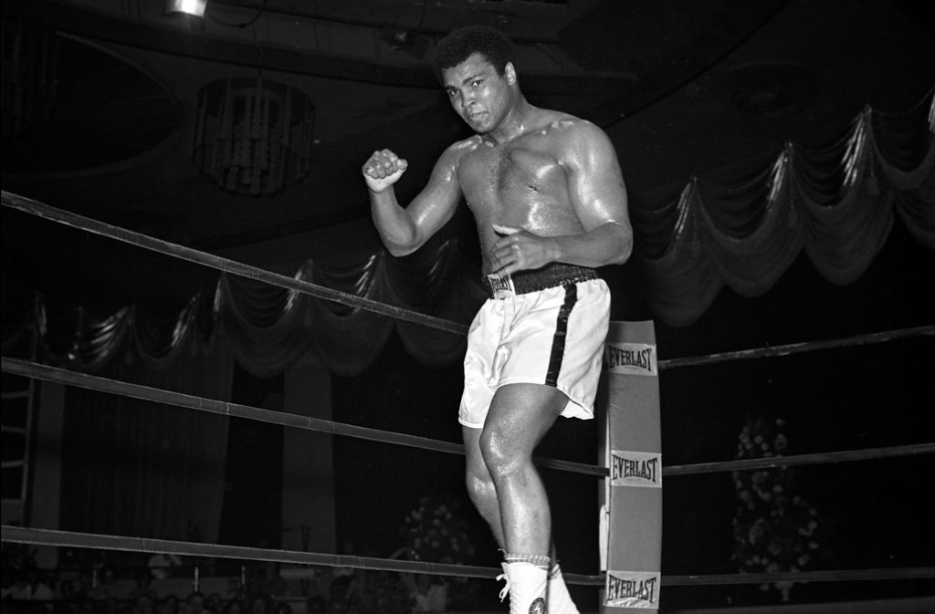 Muhammad Ali ist am Freitag im Alter von 74 Jahren gestorben. Foto: LAS VEGAS NEWS BUREAU