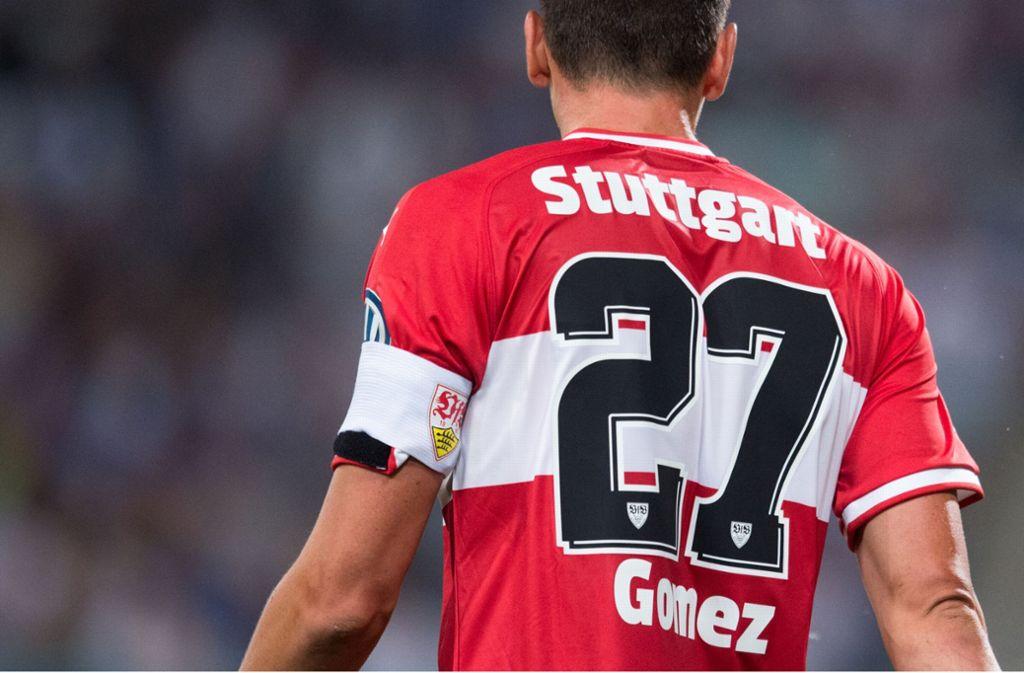 Für VfB-Jerseys muss man sehr tief in die Tasche greifen. Foto: Pressefoto Baumann