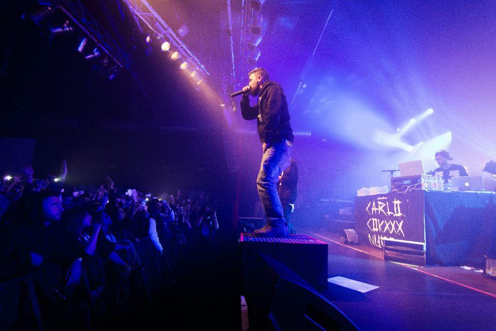 Bushido hat im LKA in Stuttgart gespielt. Weitere Bilder von dem Auftritt am Donnerstagabend zeigt die folgende Fotostrecke. Foto: David C. Oechsle