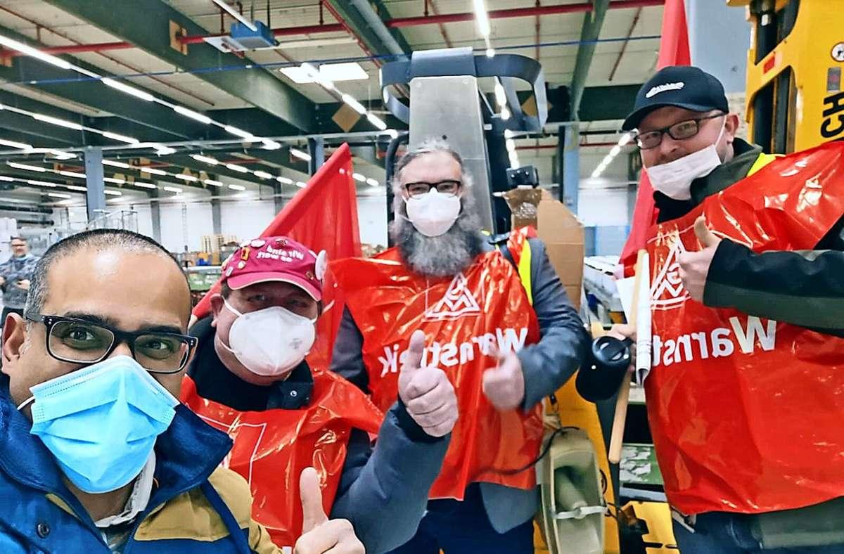 Bei Stihl in Waiblingen haben laut Gewerkschaft zahlreiche Mitarbeiter  die Freitagsfrühschicht früher verlassen. Foto: IG Metall