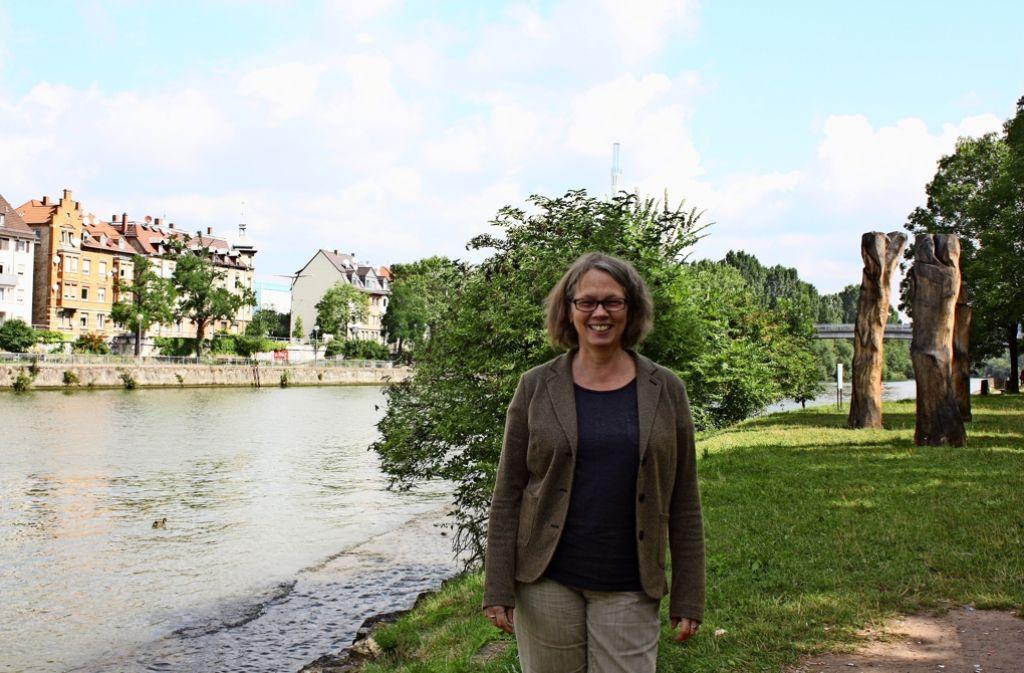 In Elke Weigels Büchern kommt immer wieder der Neckar vor. Foto: Rebecca Stahlberg