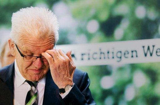 Winfried Kretschmann steht vor einer schwierigen Regierungsbildung. Foto: dpa