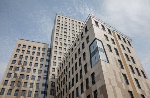 800 Säulen aus Fichte tragen 24 Stockwerke