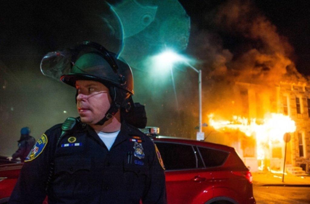 Baltimore befindet sich nach dem Tod eines Afroamerikaners im Ausnahmezustand. Foto: dpa