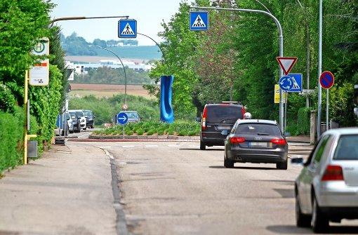 Künftig  Tempo 40 in der Ditzinger Straße