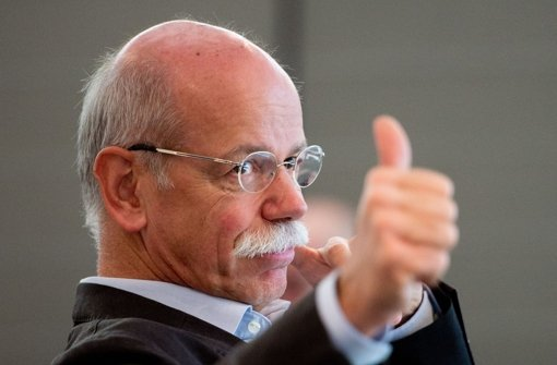 Dieter Zetsche ist   der bestverdienende Manager in einem Dax-Konzern. Foto: dpa