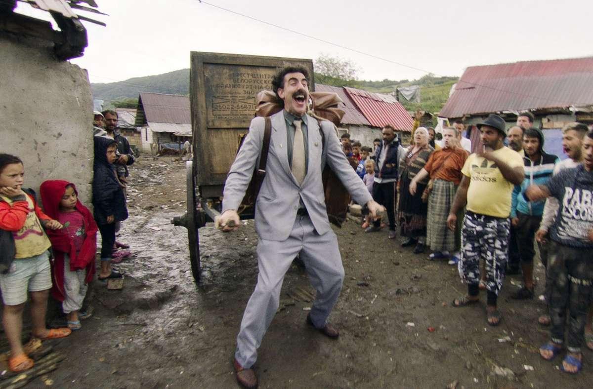 "Szenenbild aus ""Borat Anschluss Moviefilm"" Foto: Amazon Studios"