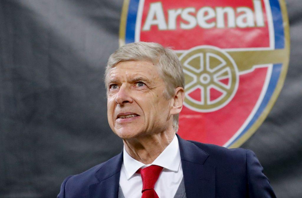 Wenger wäre nach Champions-League-Neuling Kovac ein Trainer mit großer internationaler Erfahrung. Foto: AP