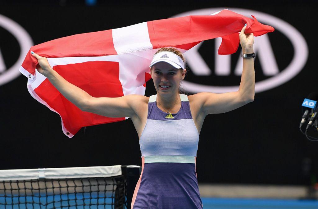 Nach rund 15 Jahren verabschiedete sich Caroline Wozniacki in Melbourne endgültig aus dem Tennis-Zirkus. Foto: AFP/Greg Wood