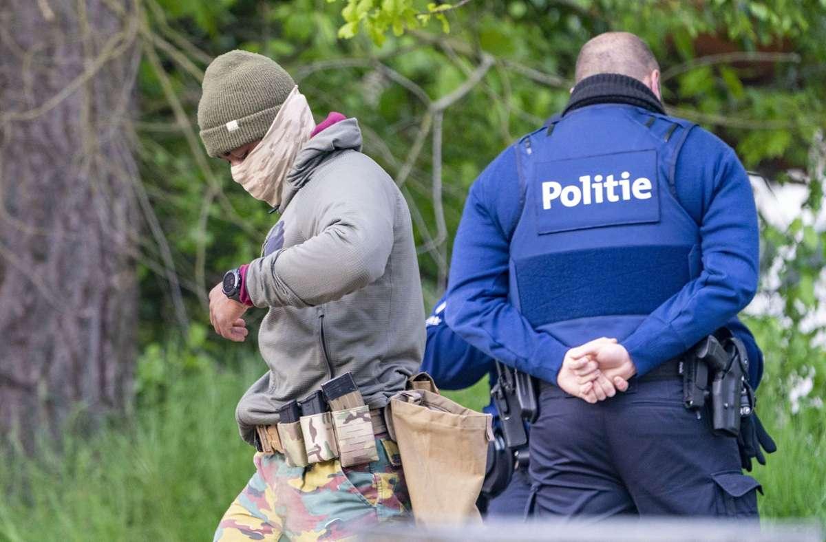 Die Fahndung der Polizei in Belgien läuft seit Tagen. Foto: dpa/Arnulf Stoffel