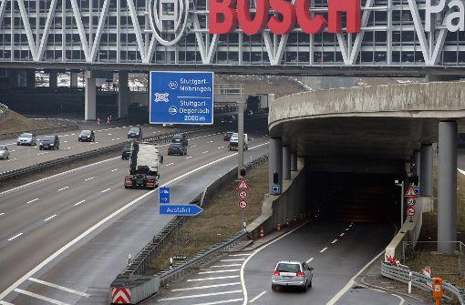 Der Messetunnel wird am Freitag voll gesperrt. Foto: Archiv Achim Zweygarth