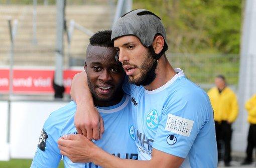 Stuttgarter Kickers fast gerettet