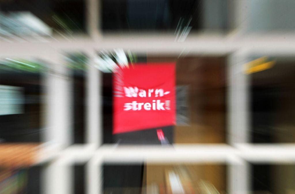 Am Donnerstag und Freitag kommt es zu weiteren Warnstreiks im öffentlichen Dienst. Foto: dpa