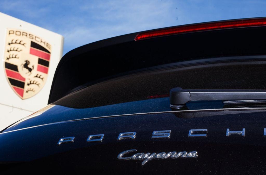 Diebe haben zwei neuwertige Porsche (Symbolbild) gestohlen. Foto: dpa