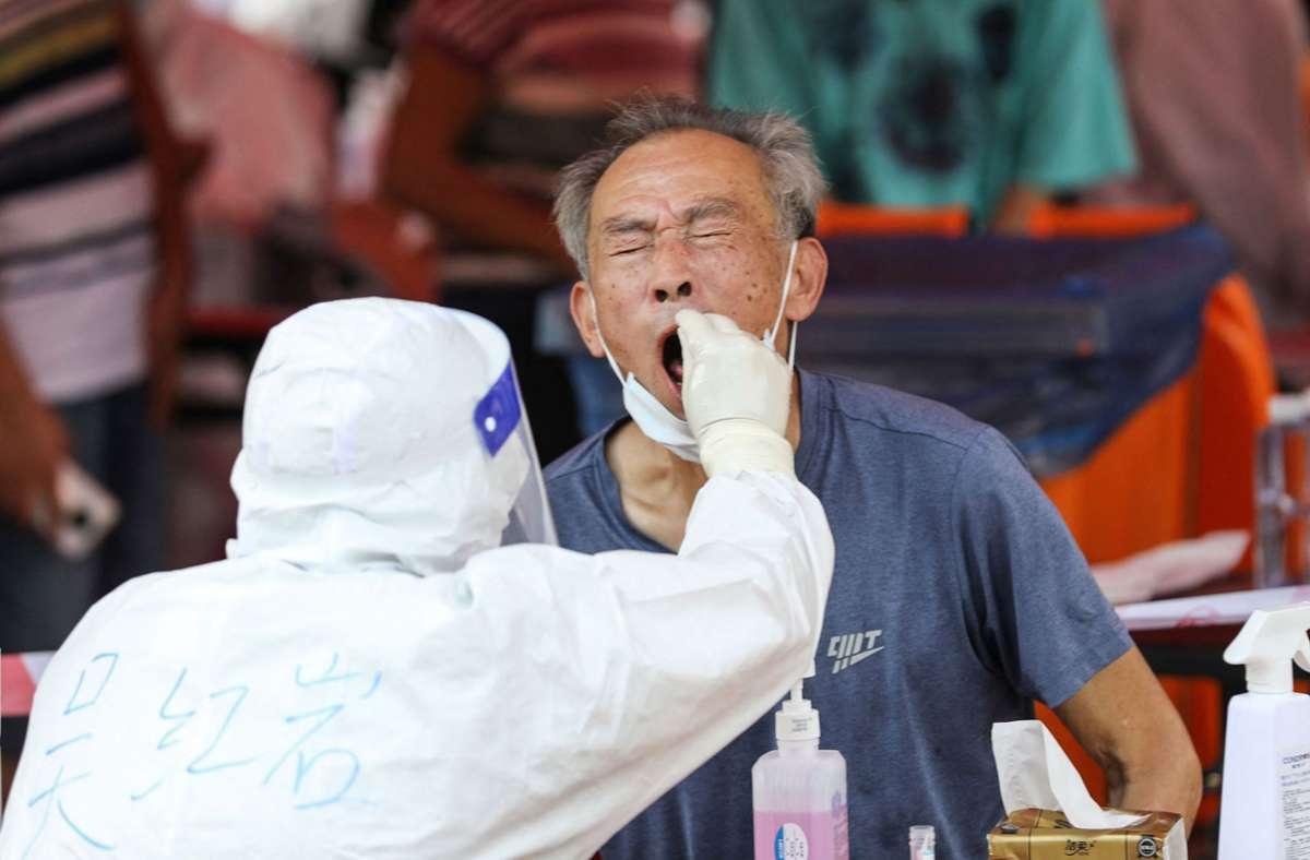 In der chinesischen Metropole Xiamen ist es zu einem erneuten Ausbruch des Coronavirus gekommen. Foto: AFP/STR