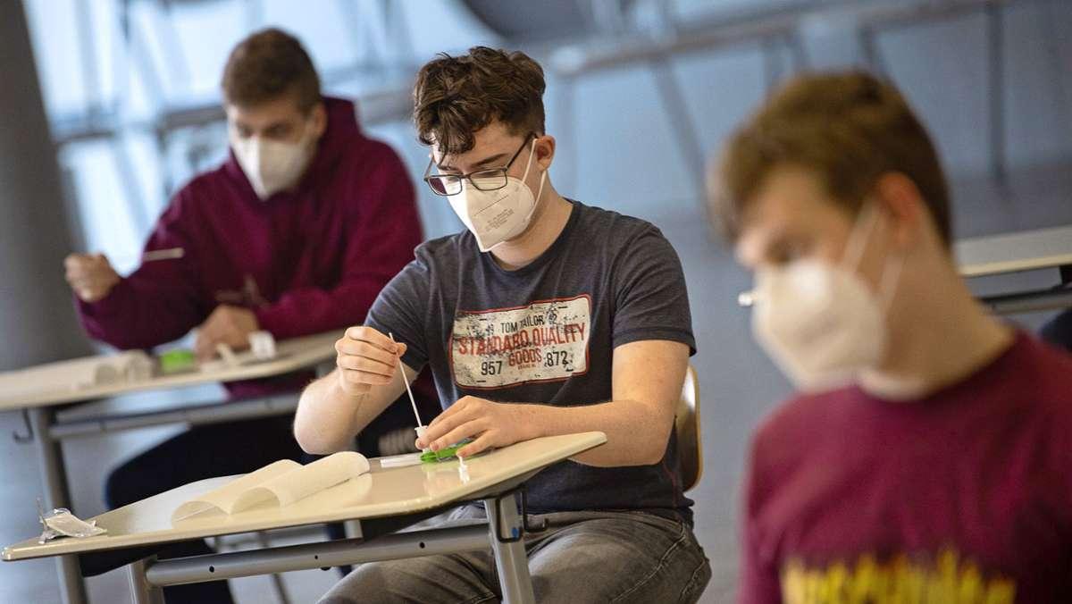 Coronatests  sind Kraftakt für die Schulen