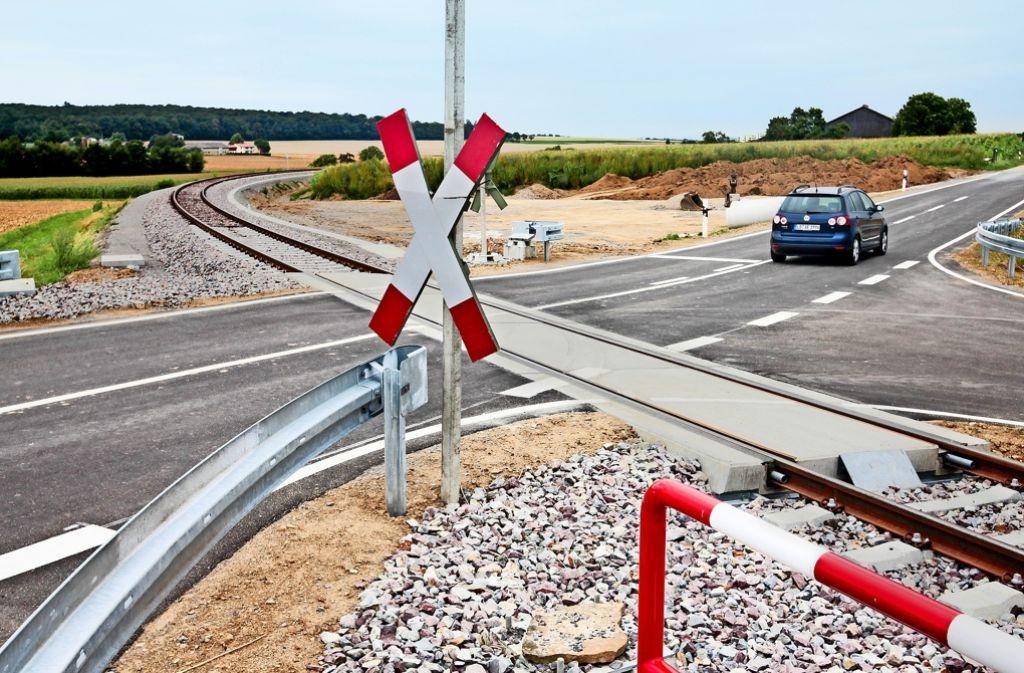 Auch über die finanzielle Förderung der Kreuzung    der Bahnstrecke mit der Eberdinger Straße wird derzeit gerungen. Foto: factum/Granville