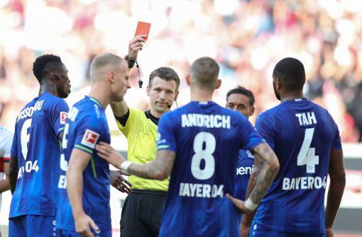 Leverkusens Robert Andrich gesperrt