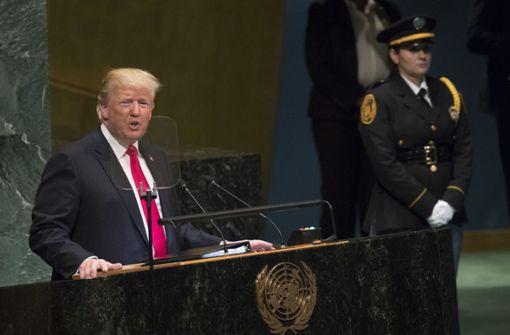 Donald Trump kritisiert Deutschland erneut