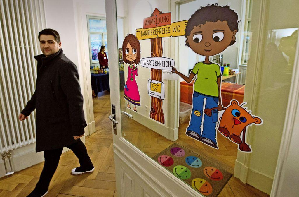 Das Haus  am Eugensplatz bietet viel Raum für Eltern und Kinder. Foto: Lichtgut/Willikonsky