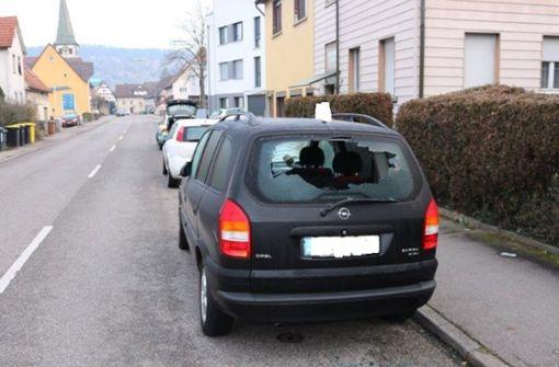 Steinwürfe: Polizei vermutet Serie