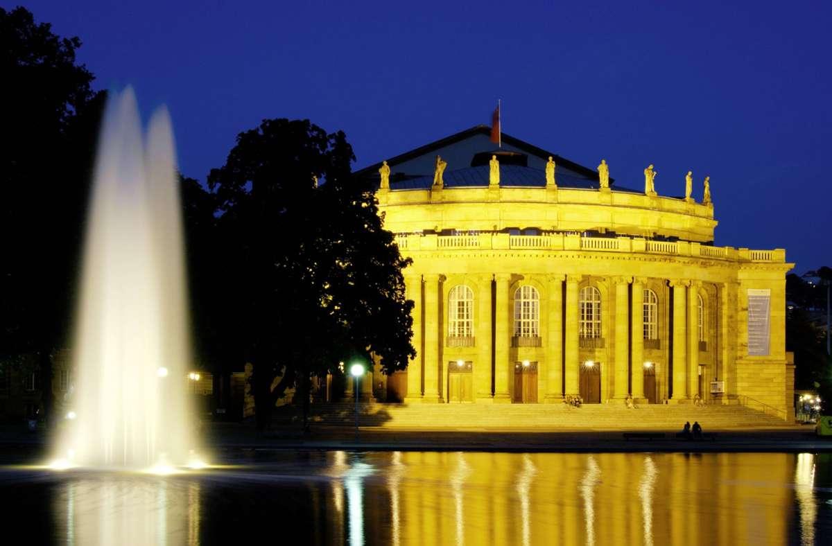 Wann darf die Stuttgarter Oper wieder spielen? Der Bühnenverein fordert eine klare Perspektive. Foto: imago stock&people