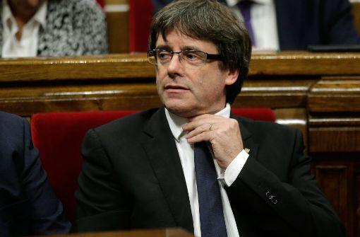 Spanien erlässt europäischen Haftbefehl gegen Puigdemont
