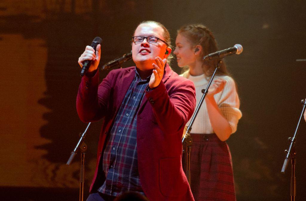 Angelo Kelly in der Liederhalle. Foto: Oliver Willikonsky / Lichtgut