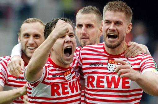 Köln beendet Krise mit 8:1 gegen Dresden – HSV weiter vorne