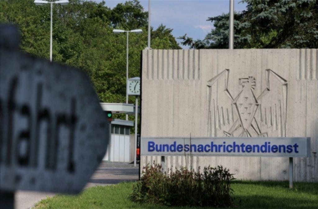 Spionagezentrum in Pullach bei München. Foto: dpa