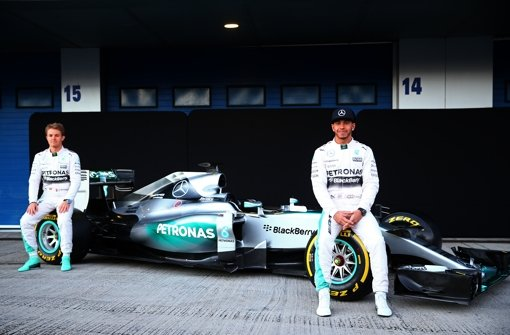 Neuer Mercedes-Bolide präsentiert