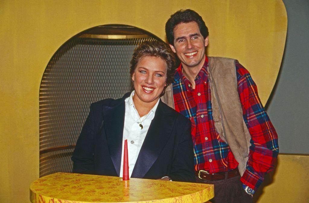 Julitta  Münch moderierte mit Jürgen Drensek gemeinsam das ARD-Morgenmagazin. Foto: imago images/United Archives/ / kpa