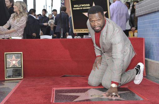 US-Rapper mit Stern in Hollywood gefeiert