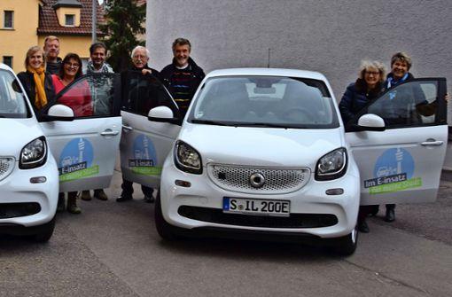 Zwei Elektro-Smarts bringen das Ehrenamt auf Touren