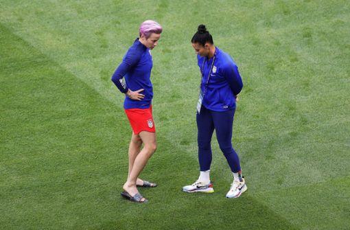 US-Frauen erneuern vor WM-Finale Kritik an US-Präsident