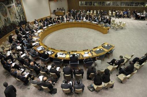 Abbas Antrag entzweit UN-Rat