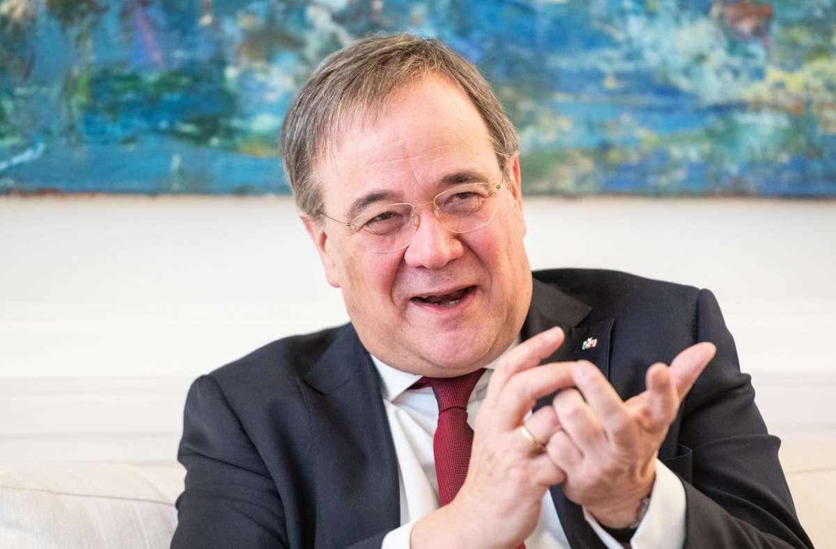 Armin Laschet (CDU) will der nächste Bundeskanzler in Deutschland werden. (Archivbild) Foto: dpa/Caroline Seidel