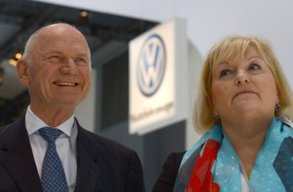 Ferdinand Piëch und seine Frau Ursula haben ihre Aufsichtsratsmandate mit sofortiger Wirkung niedergelegt. Foto: dpa