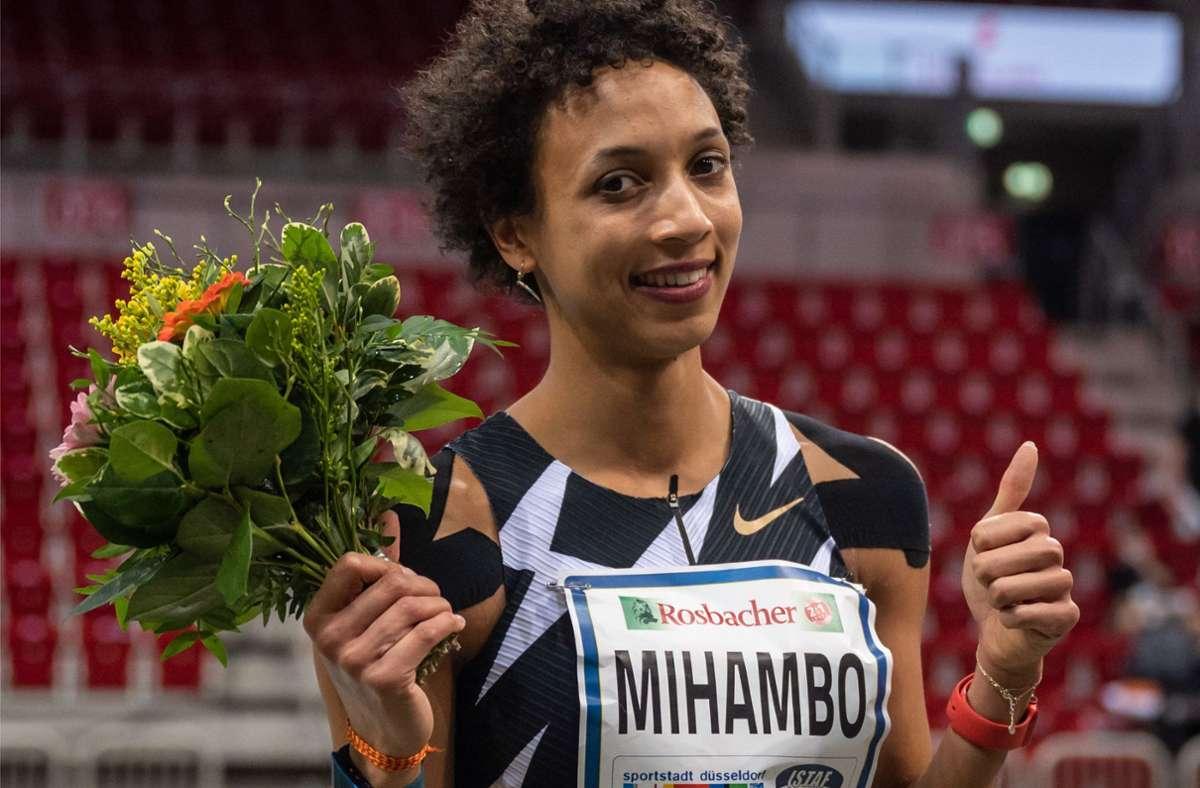 Malaika Mihambo ist der Topstar der deutschen Leichtathletik. Foto: dpa/Bernd Thissen