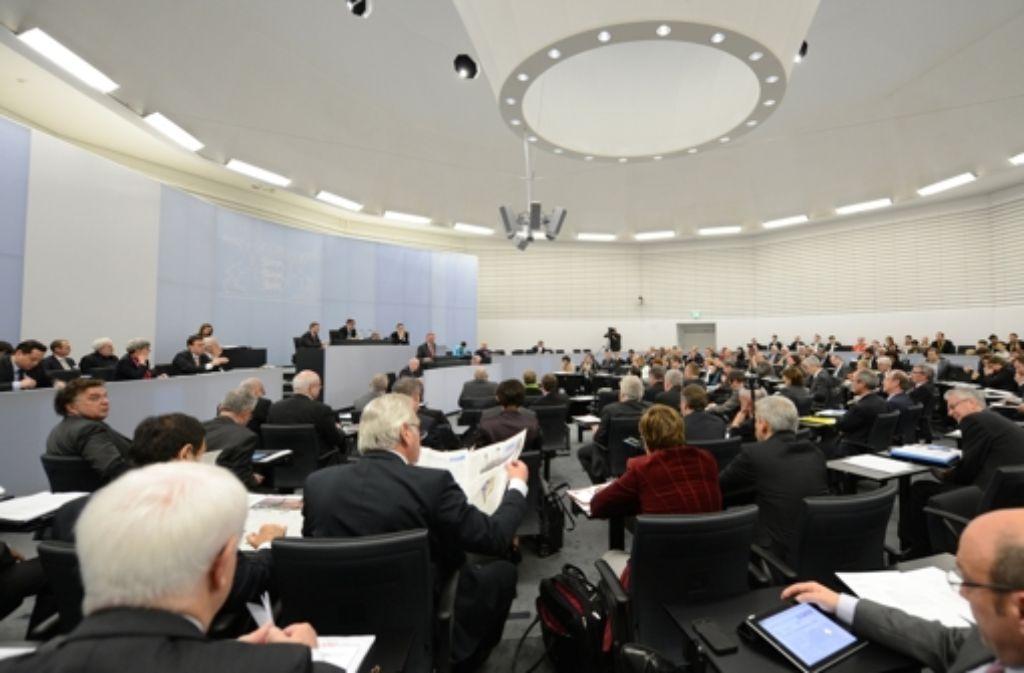 Wie viel Übergangsgeld steht den Landtagsabgeordneten bei einem Wechsel in die Wirtschaft zu? Foto: dpa