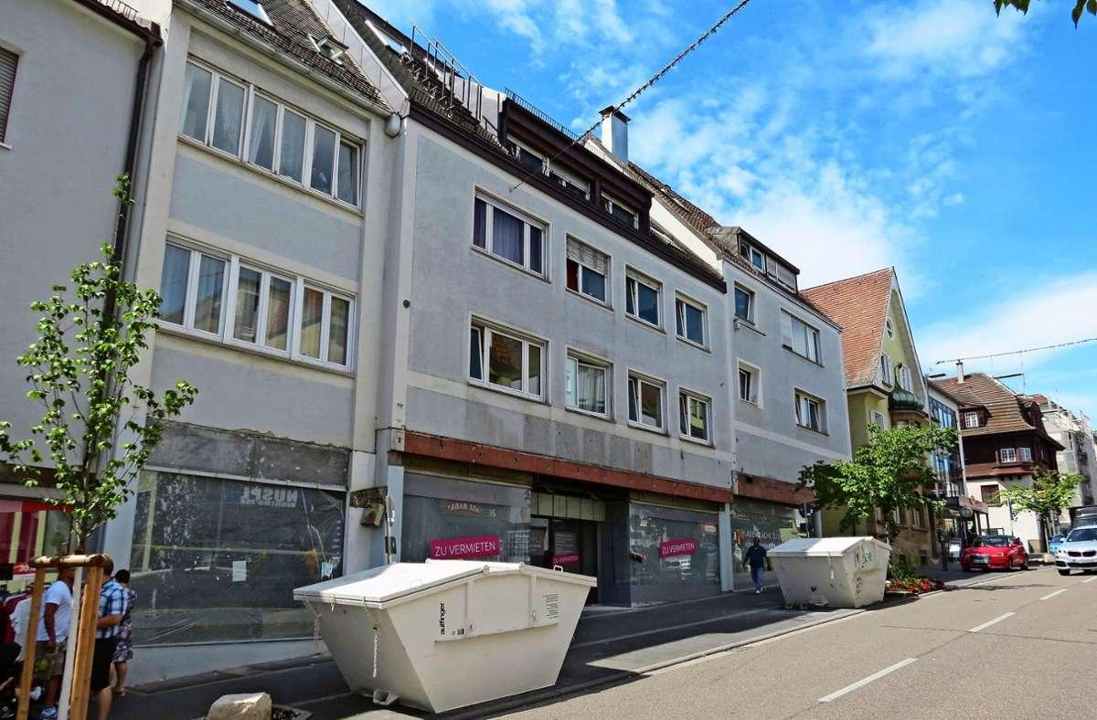 Momentan wird das Gebäude  noch umgebaut. Foto: /Bernd Zeyer