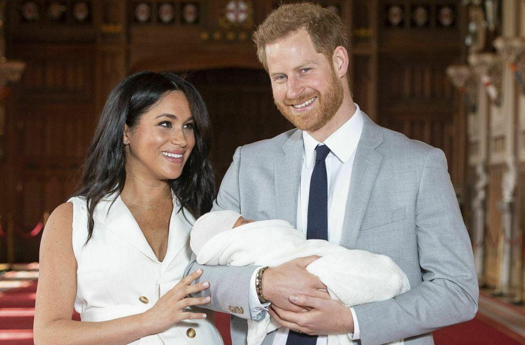 Meghan und Prinz Harry wollen nicht mehr als zwei Kinder. Foto: AP