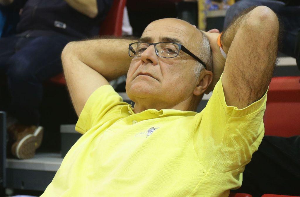 Hat bei den Volleyballerinnen vonAllianz MTV Stuttgart viel bewegt: Sportdirektor Bernhard Lobmüller Foto: Baumann