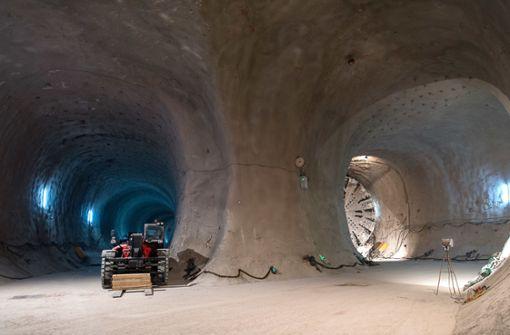 Für die S-21-Tunnel stehen Enteignungen an