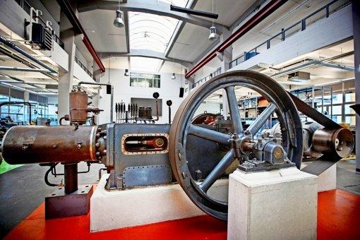 Das neue Backnanger Technikmuseum ist selbst ein Museumsstück – die ehemalige Werkhalle wurde 1938 erbaut. Foto: Gottfried Stoppel