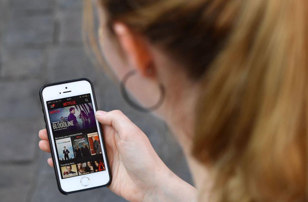 Netflix führt regelmäßig neue Funktionen ein. (Symbolbild) Foto: Jens Kalaene/dpa-Zentralbild/dpa/Jens Kalaen